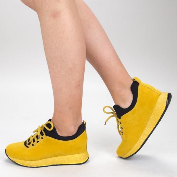 Pantofi Sport Dama SZ216 Yellow Mei