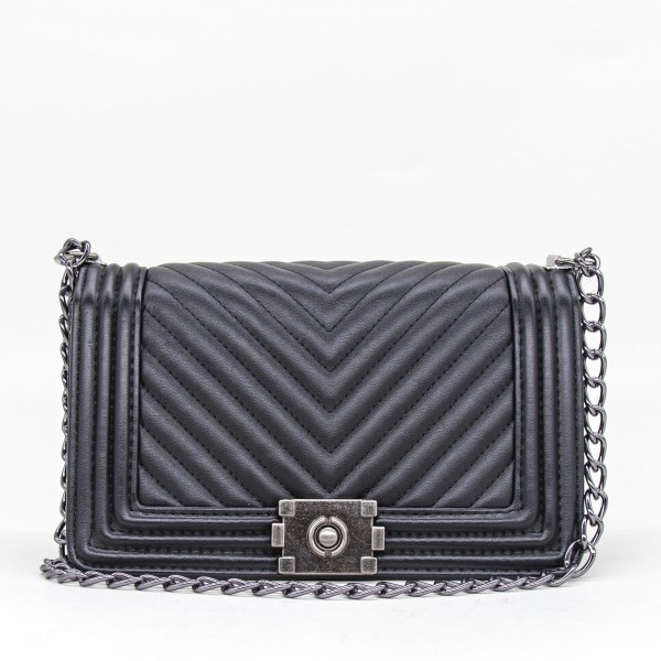 Geanta Dama 836-5 POS Black Fashion