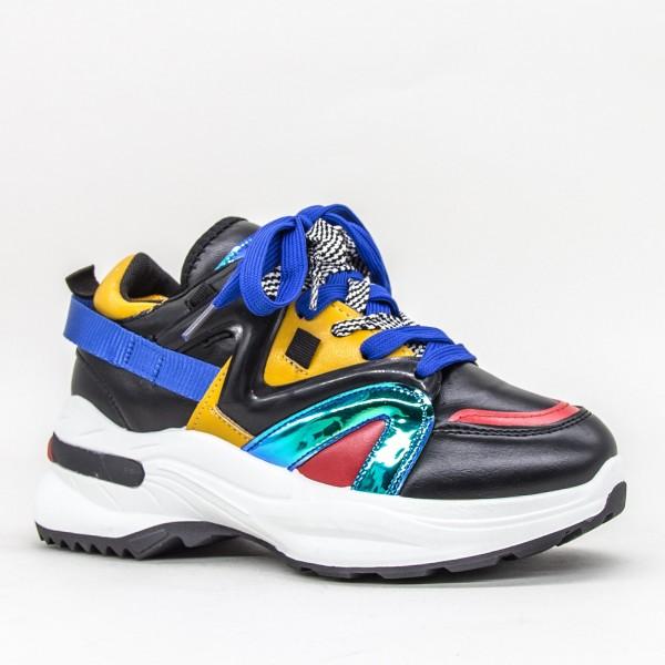 Pantofi Sport Dama YKQ113 Black Mei