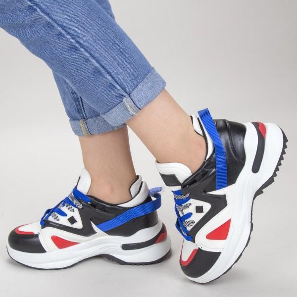 Pantofi Sport Dama YKQ113 White Mei