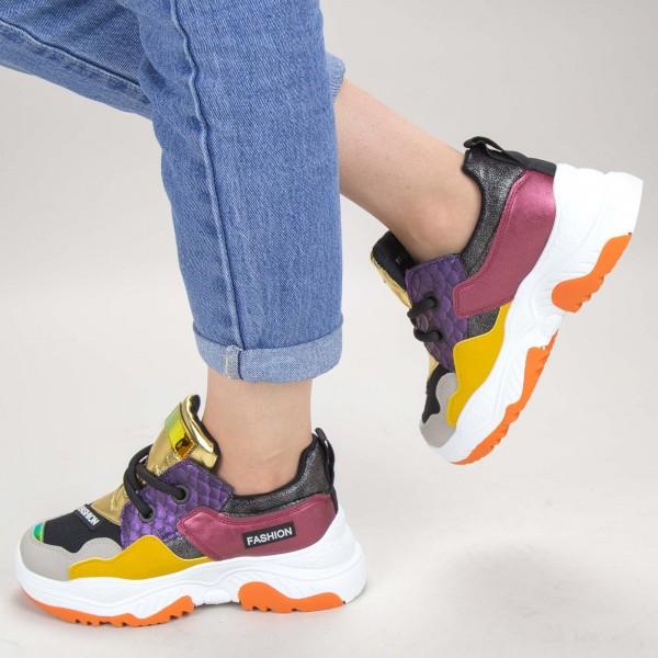 Pantofi Sport Dama YKQ116 Yellow Mei