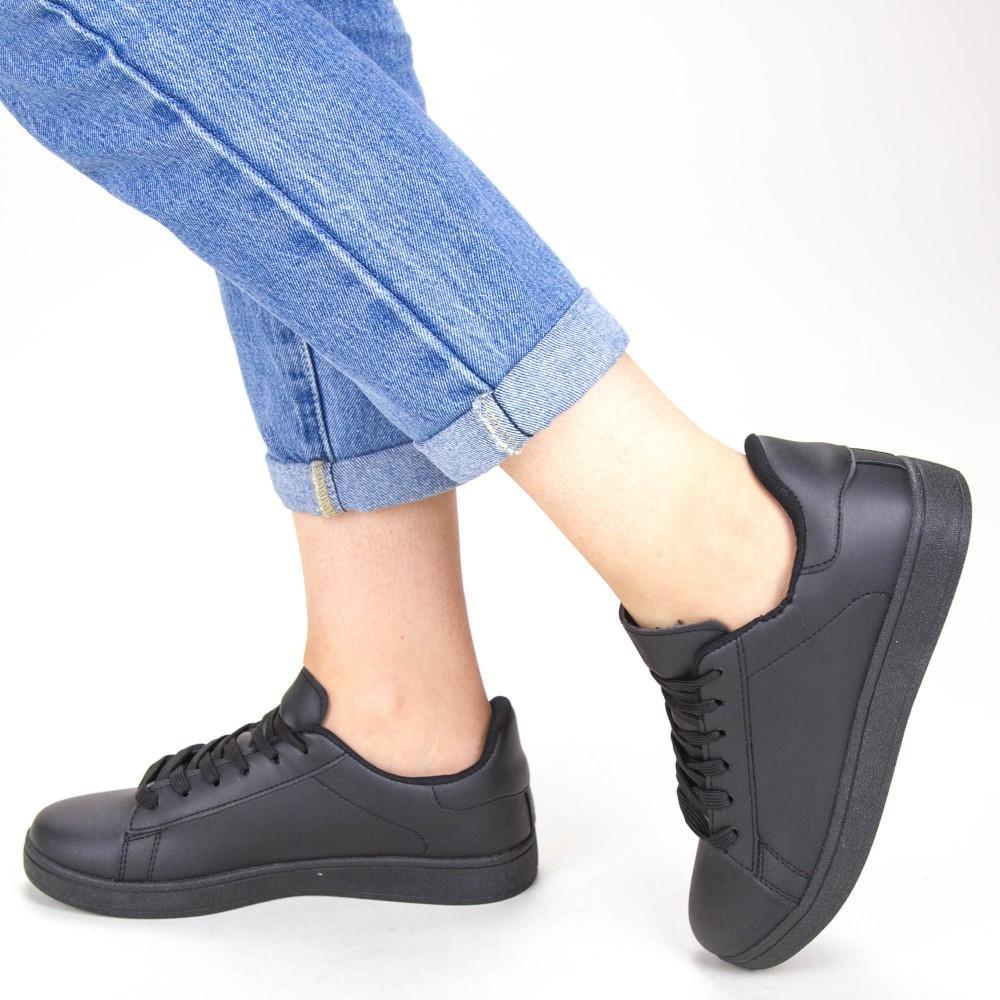 Pantofi Sport Dama YKQ117A Black Mei