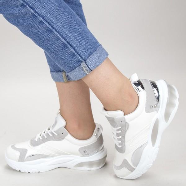 Pantofi Sport Dama JG6 White Mei