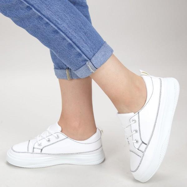 Pantofi Sport Dama JG7 White Mei