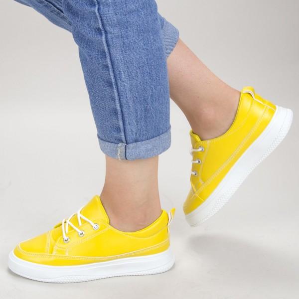 Pantofi Sport Dama JG7 Yellow Mei