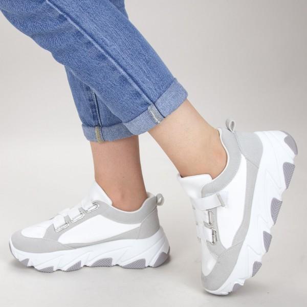 Pantofi Sport Dama JG8 White Mei