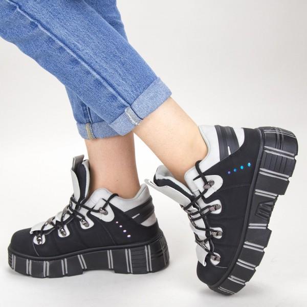 Pantofi Sport Dama YKQ150 Black Mei