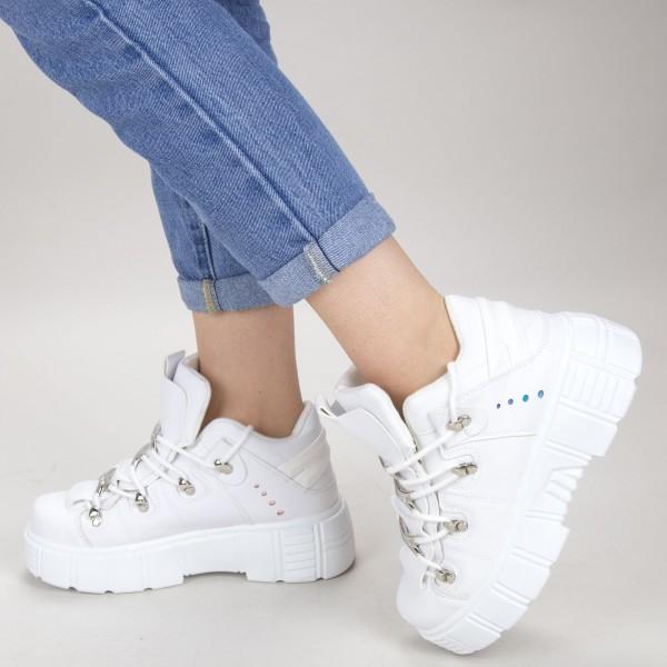 Pantofi Sport Dama YKQ150 White Mei