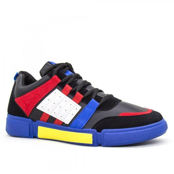 Pantofi Sport Barbati JG9 Black-blue Mei
