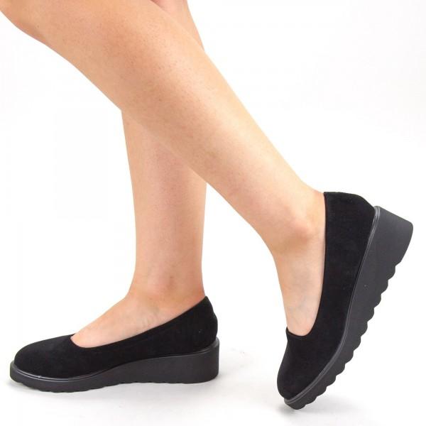 Pantofi Casual Dama HJ12 Black Mei