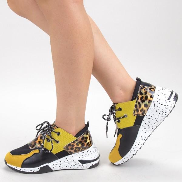 Pantofi Sport Dama L21 Yellow Mei