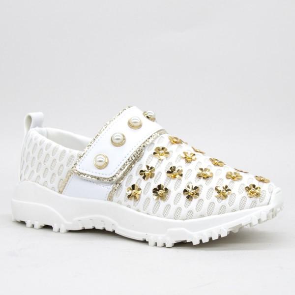 Pantofi Sport Dama B23187 White Mei