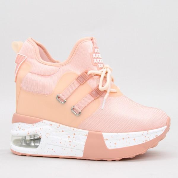 Pantofi Sport Dama cu Platforma BW387-23 Pink Mei