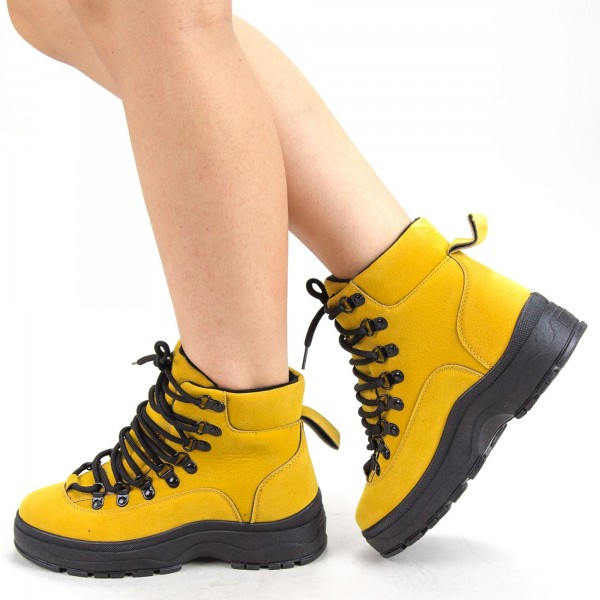 Ghete Dama YKQ80 Yellow Mei