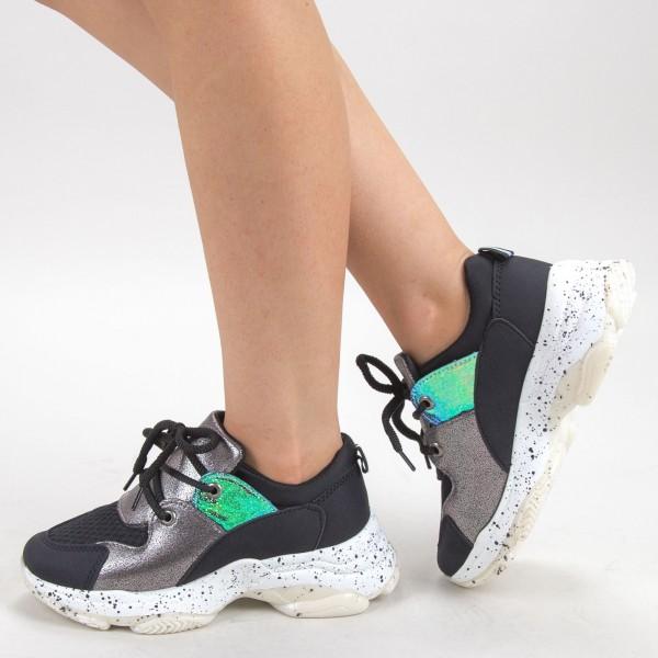 Pantofi Sport Dama L22 Black Mei