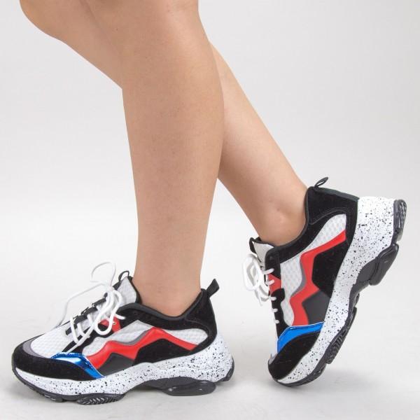 Pantofi Sport Dama L25 White Mei