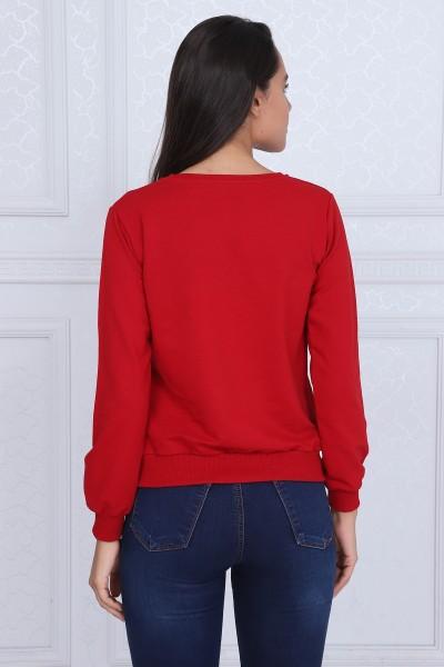 Bluza Dama 8381-1 SEE YOU Rosu Adrom