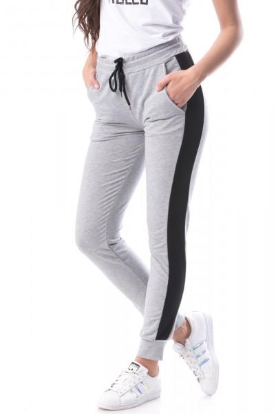 Pantaloni Dama 8316 BATAL Gri-Deschis Adrom
