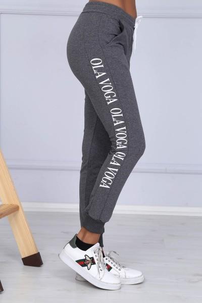 Pantaloni Dama 8382 OLA VOGA Gri-Inchis Adrom