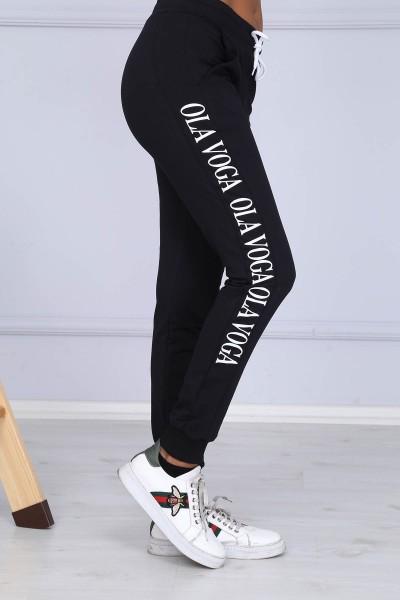 Pantaloni Dama 8382 OLA VOGA Negru Adrom