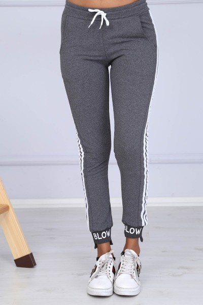 Pantaloni Dama 8383 BLOW Gri-Inchis Adrom