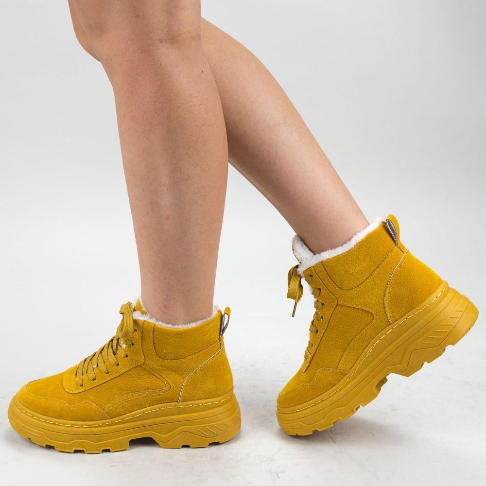 Ghete Dama AN71 Yellow Mei