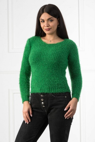Pulover Dama 1022 Verde Adrom