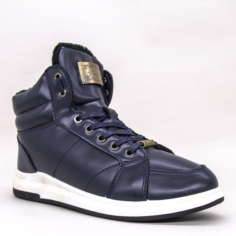 Ghete Barbati A16 GB Navy Fashion