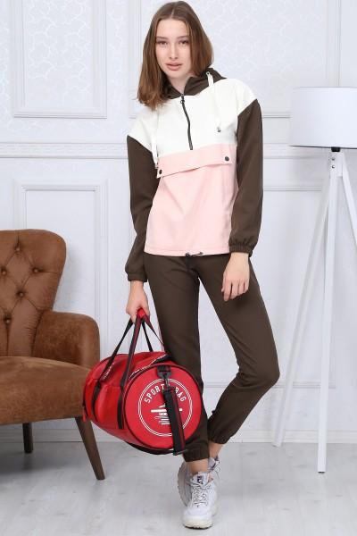 Compleu Dama COMPLEU 8403 Khaki-roz Adrom