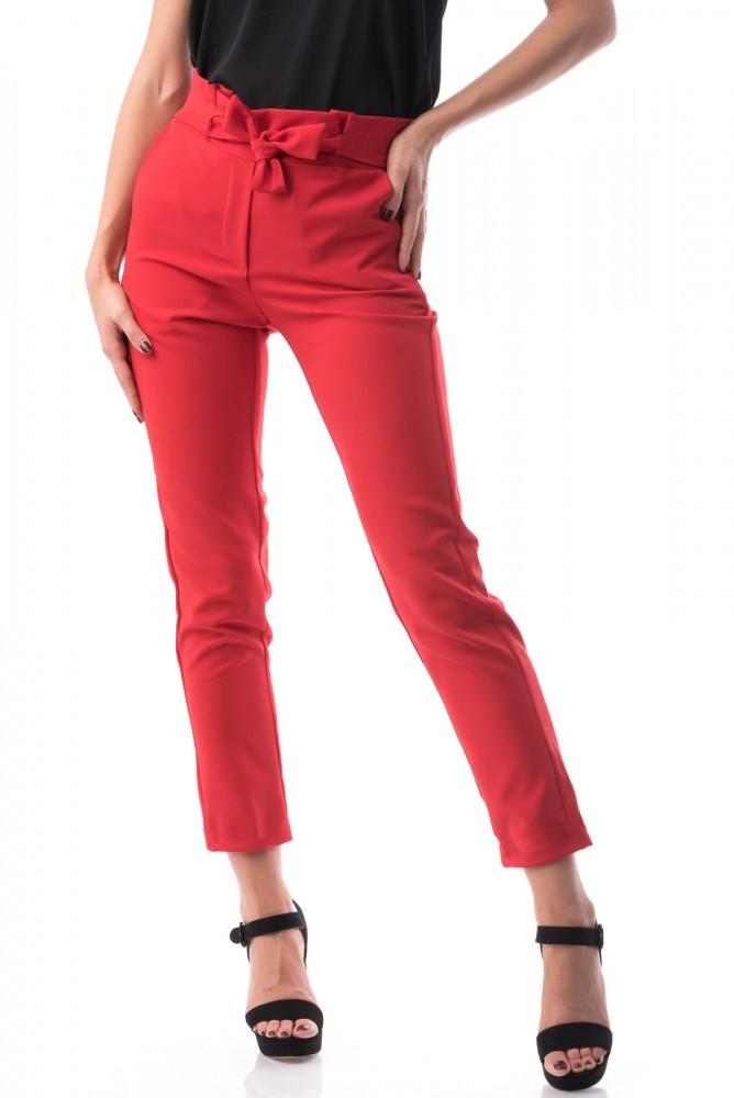 Pantaloni Dama PANTALON P118 Rosu Adrom