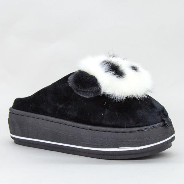 Papuci Dama MD0176 Black Jomix