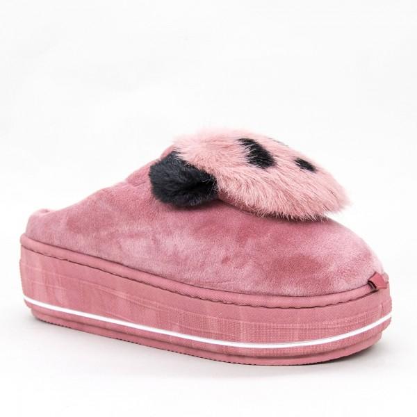 Papuci Dama MD0176 Dark-Pink Jomix