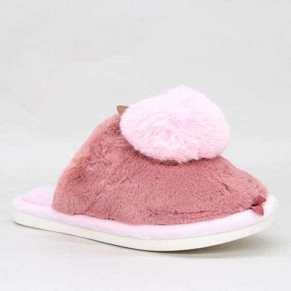 Papuci Dama MD0143 Dark-Pink Jomix
