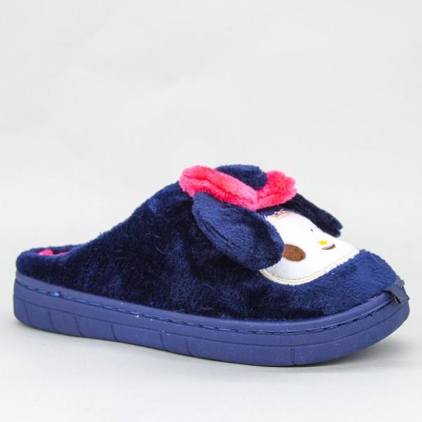 Papuci Dama D7727 Dark-Blue Jomix