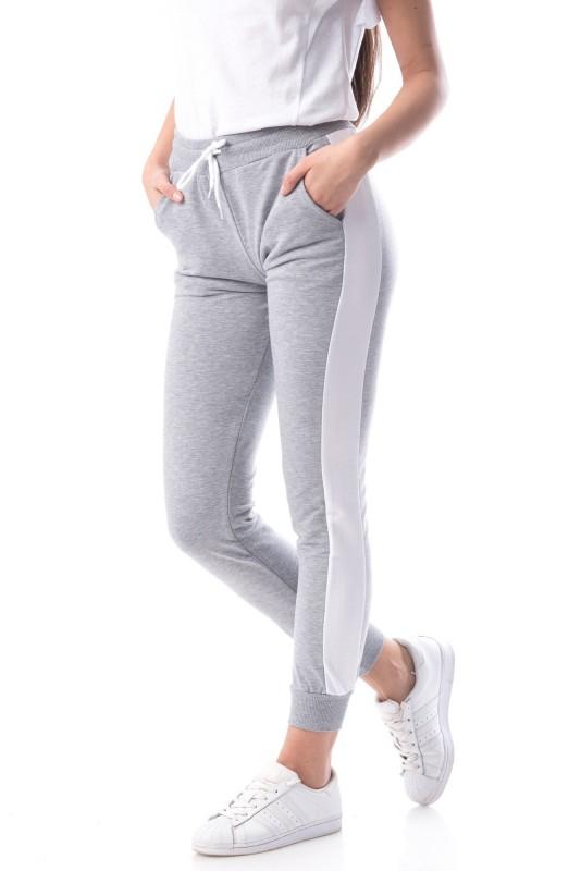 Pantaloni Dama 8465 Gri Adrom
