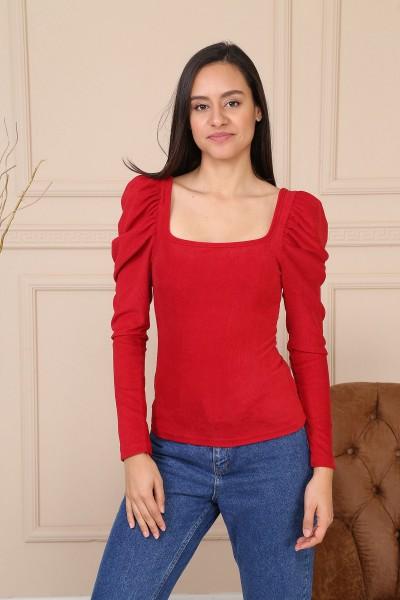 Bluza Dama 8510 Rosu Adrom