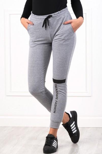 Pantaloni Dama 8491 PACKINTAPE Gri Adrom