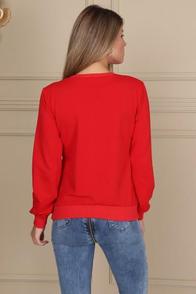 Bluza Dama BLUZA 8432 Rosu Adrom