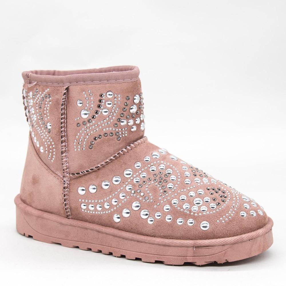Ghete UG Dama OM9 Pink Fashion