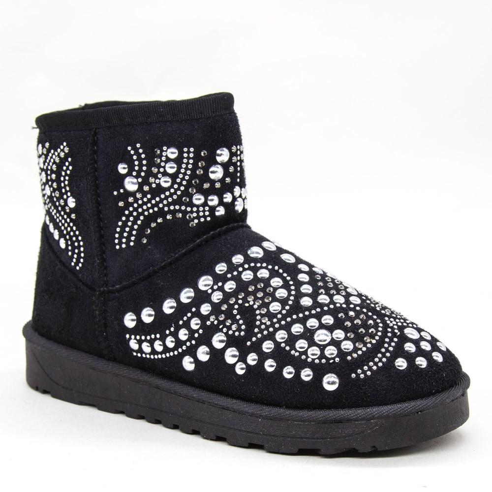 Ghete UG Dama OM9 Black Fashion