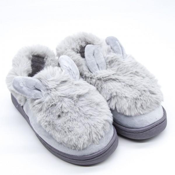 Papuci Dama de Casa XK008 Grey Fashion