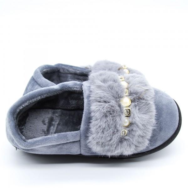 Papuci Dama de Casa FM8-9 Grey Fashion