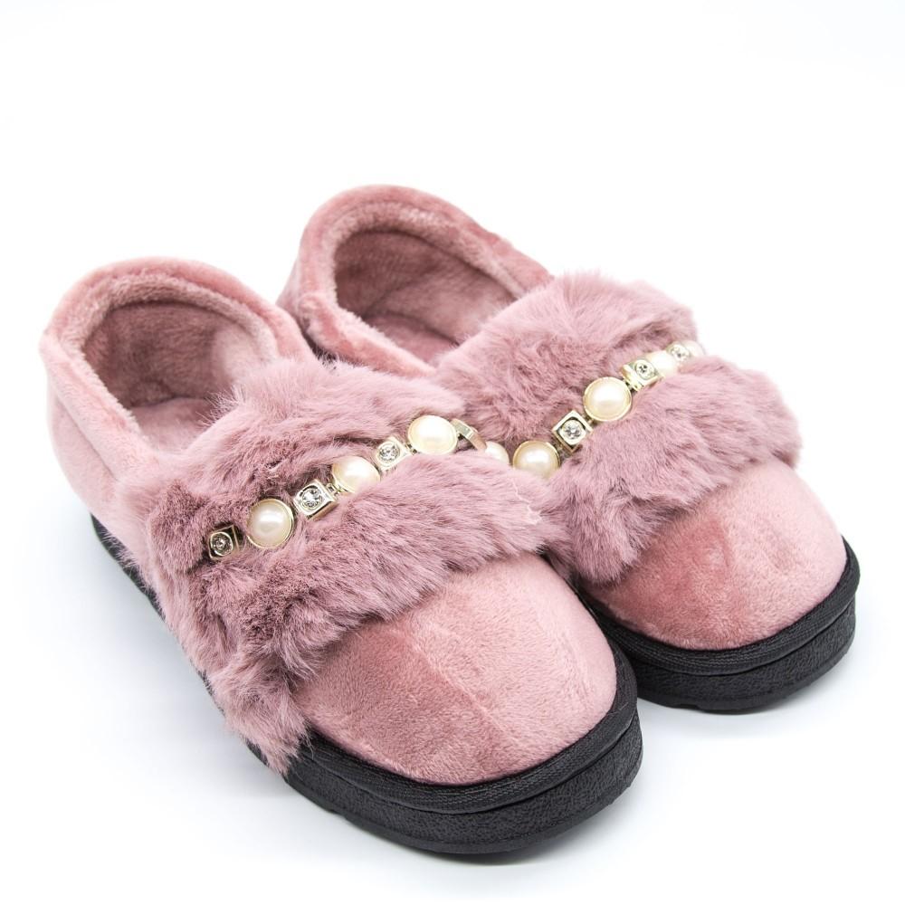 Papuci Dama de Casa FM8-9 Pink Fashion