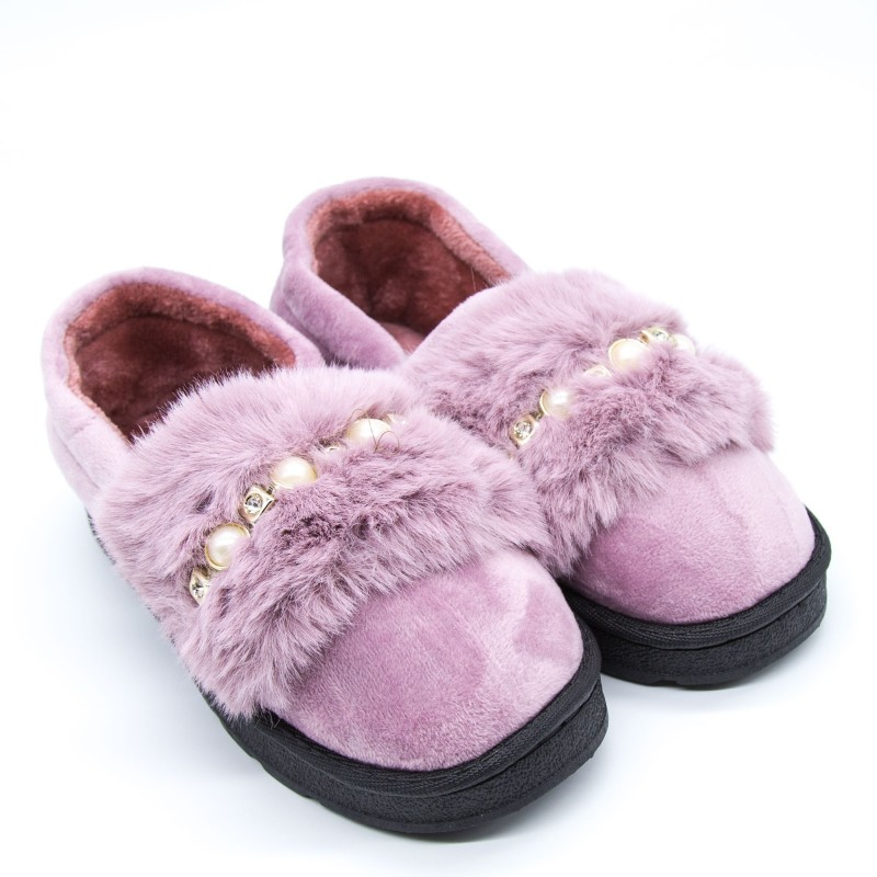 Papuci Dama de Casa FM8-9 Purple Fashion