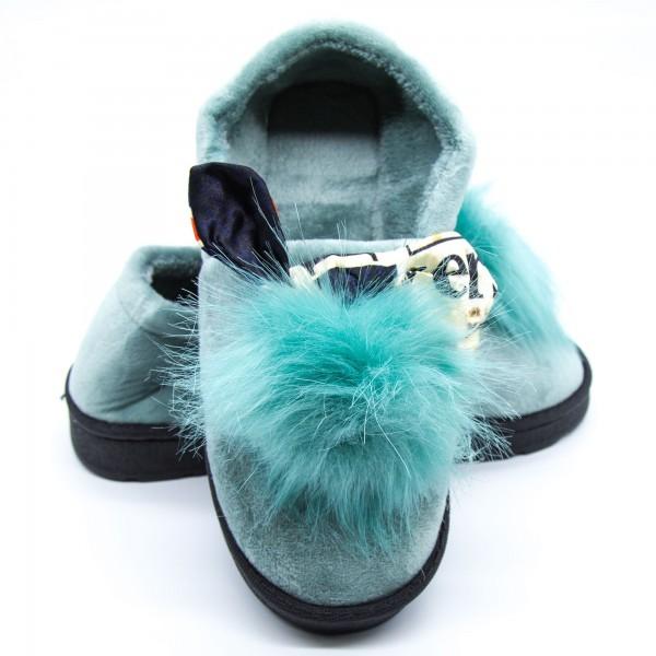 Papuci Dama de Casa FM8-3 Green Fashion