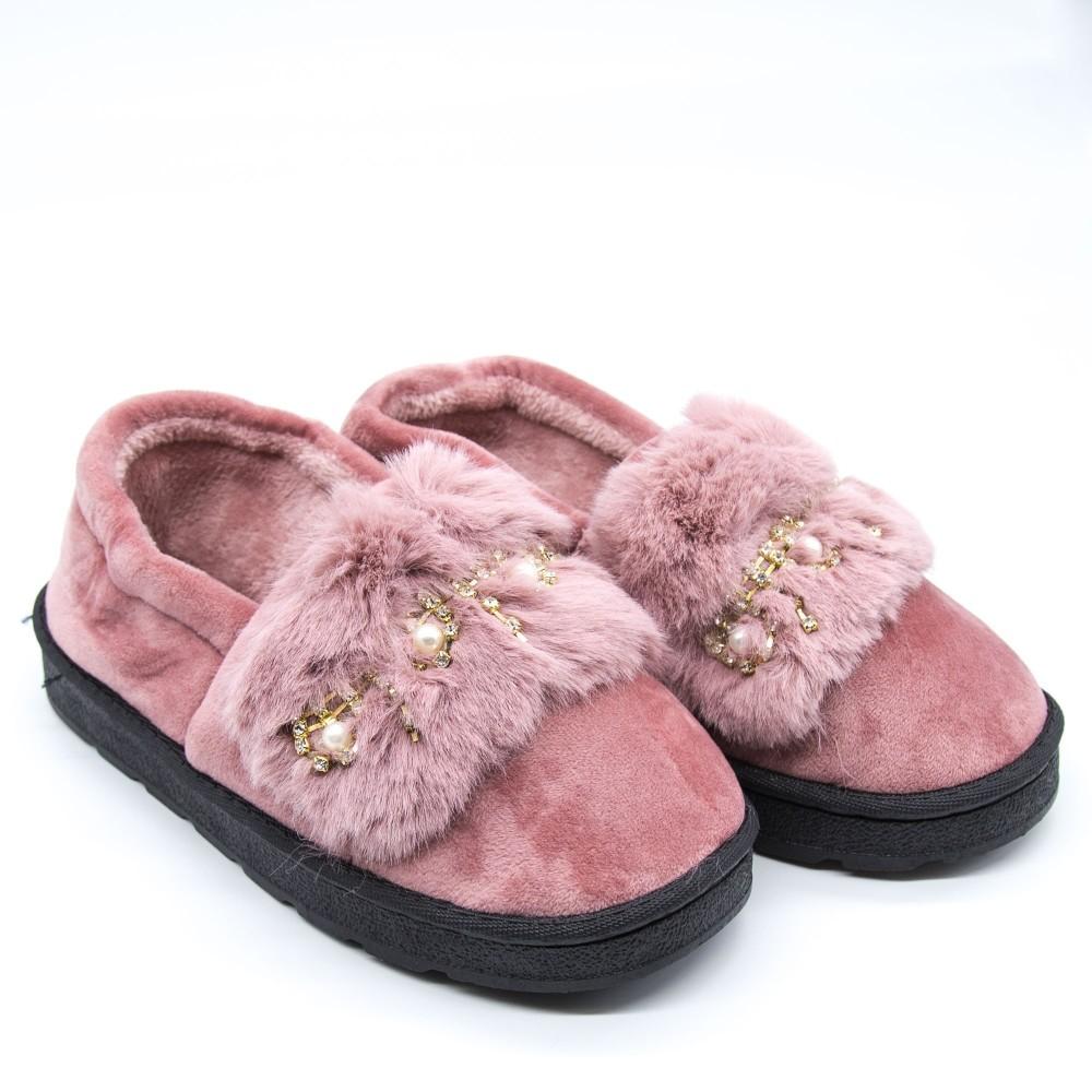 Papuci Dama de Casa FM8-10 Pink Fashion