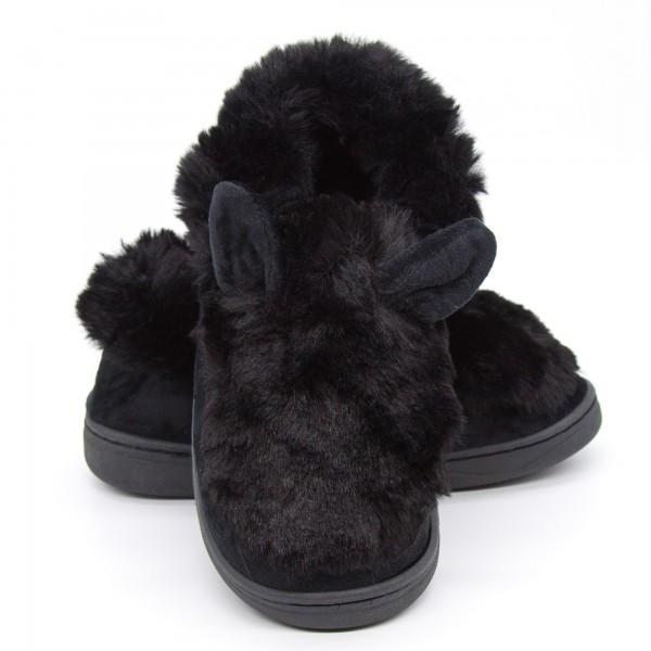 Papuci Dama de Casa XK008 Black Fashion