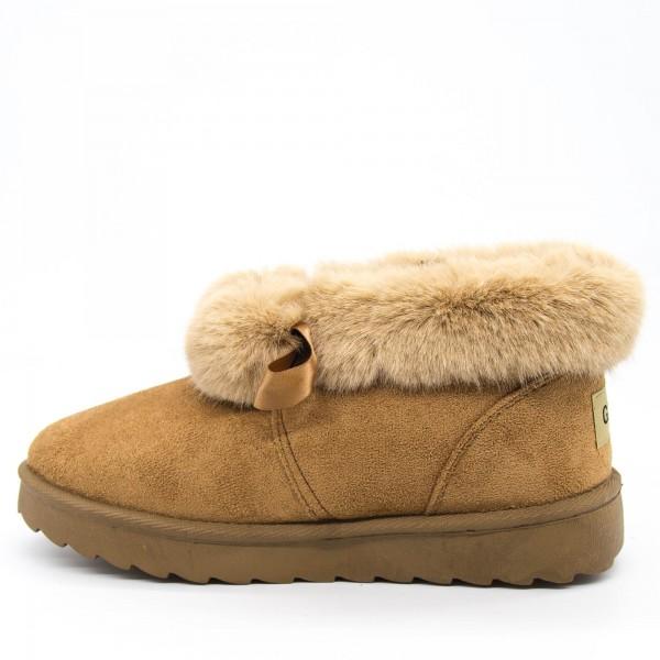 Ghete UG Dama A13 UG Camel Fashion