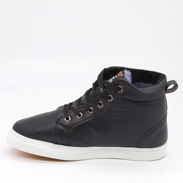 Ghete Barbati B078 Black Fashion