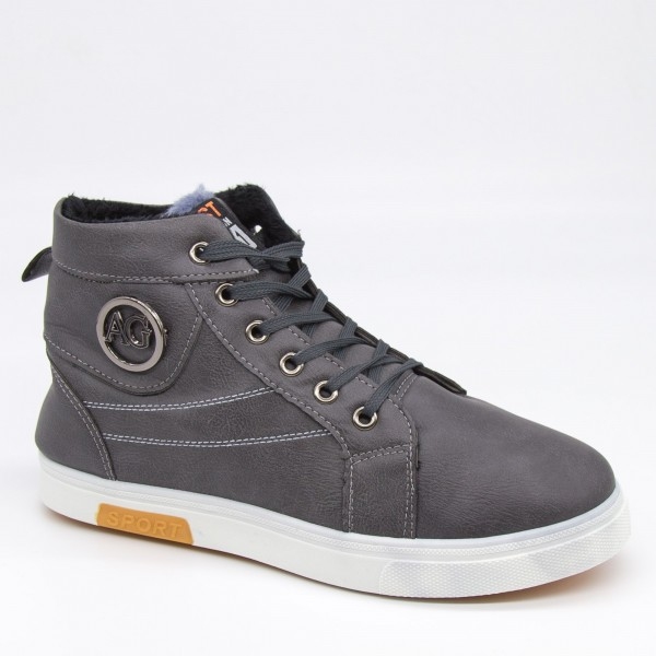Ghete Barbati B078 Grey Fashion